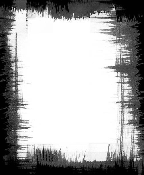 ilustrações, clipart, desenhos animados e ícones de escova de quadro padrão - texturas desgastadas