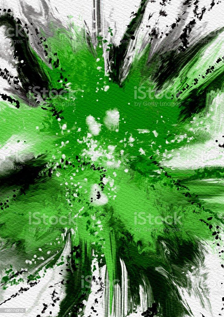 brush , texture - Stock Image vector art illustration