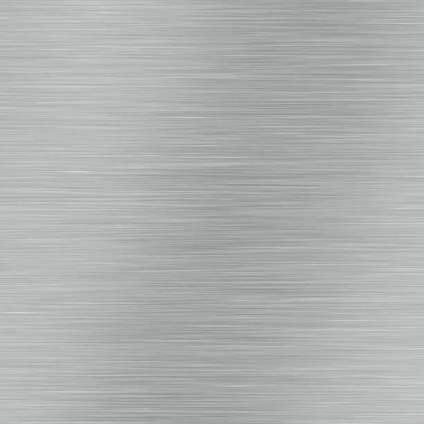 Brushed Metal Background (High Resolution Image)向量藝術插圖