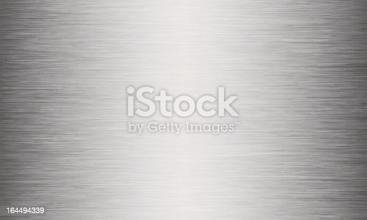 istock Brushed Metal Texture Abstract Background 164494339