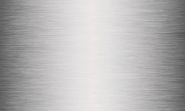 szczotkowany metal tekstura tło abstrakcyjne - metal stock illustrations