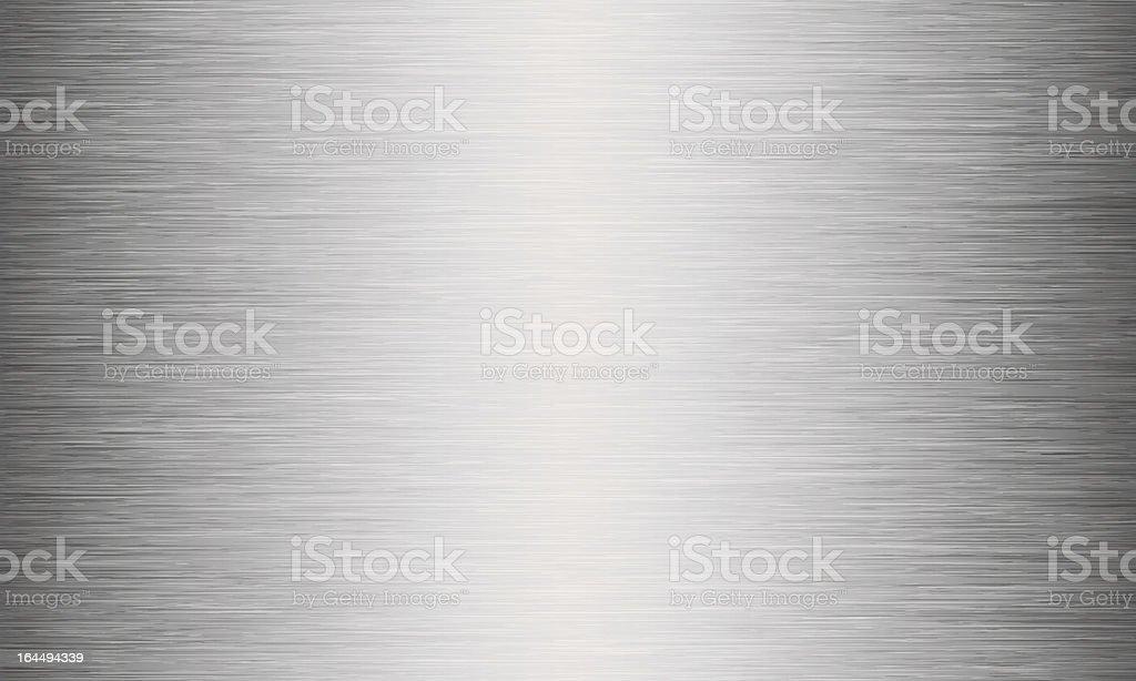 Gebürstetes Metall Textur abstrakt Hintergrund – Vektorgrafik