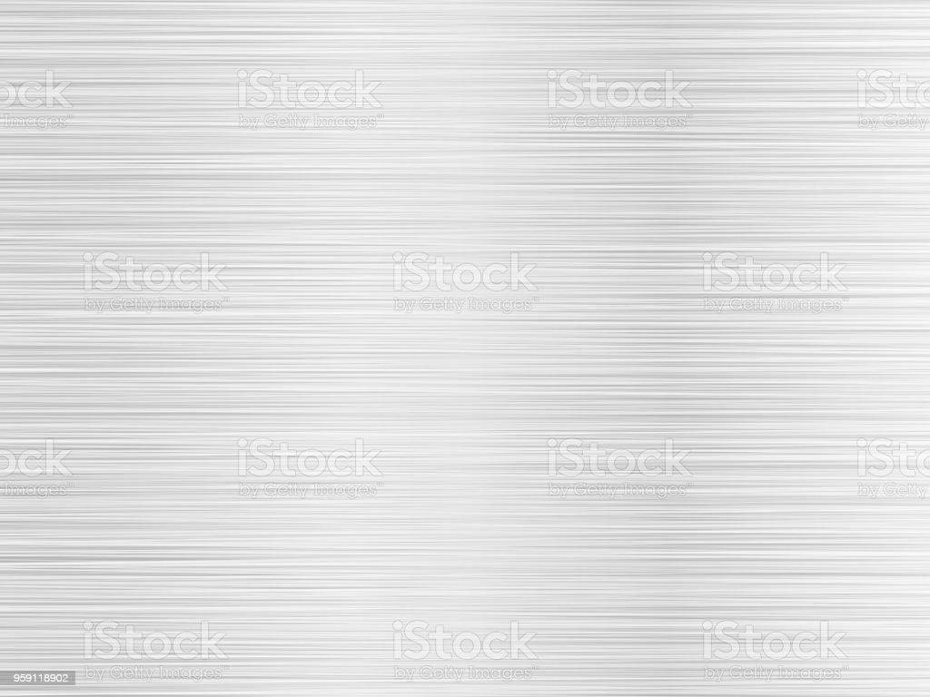brushed silver metal background vector art illustration