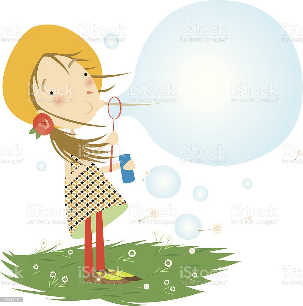 bubbles - Royaltyfri Barn vektorgrafik