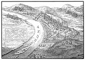 istock Buda and Pest old map 820362204