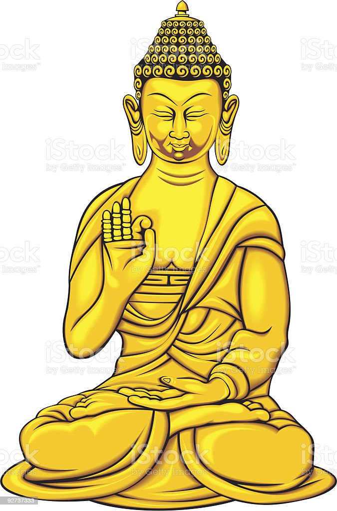 budha - Royalty-free Buddha stock vector