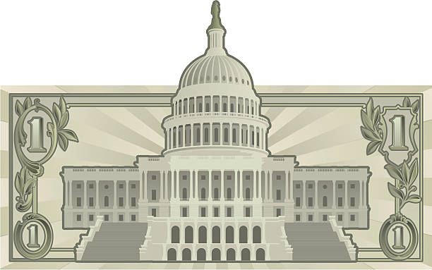 uns budget - abgeordnetenhaus stock-grafiken, -clipart, -cartoons und -symbole