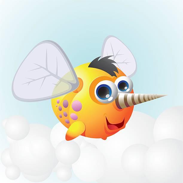 ilustrações de stock, clip art, desenhos animados e ícones de de erro - inseto himenóptero