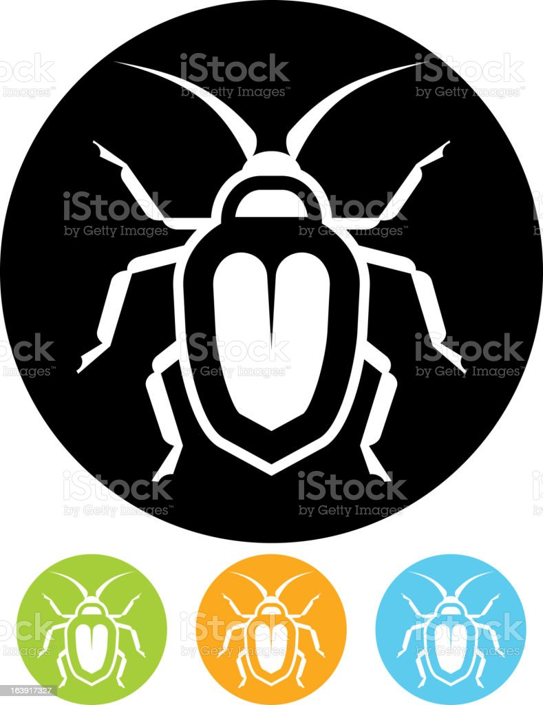 Bug – Vector icon royalty-free stock vector art