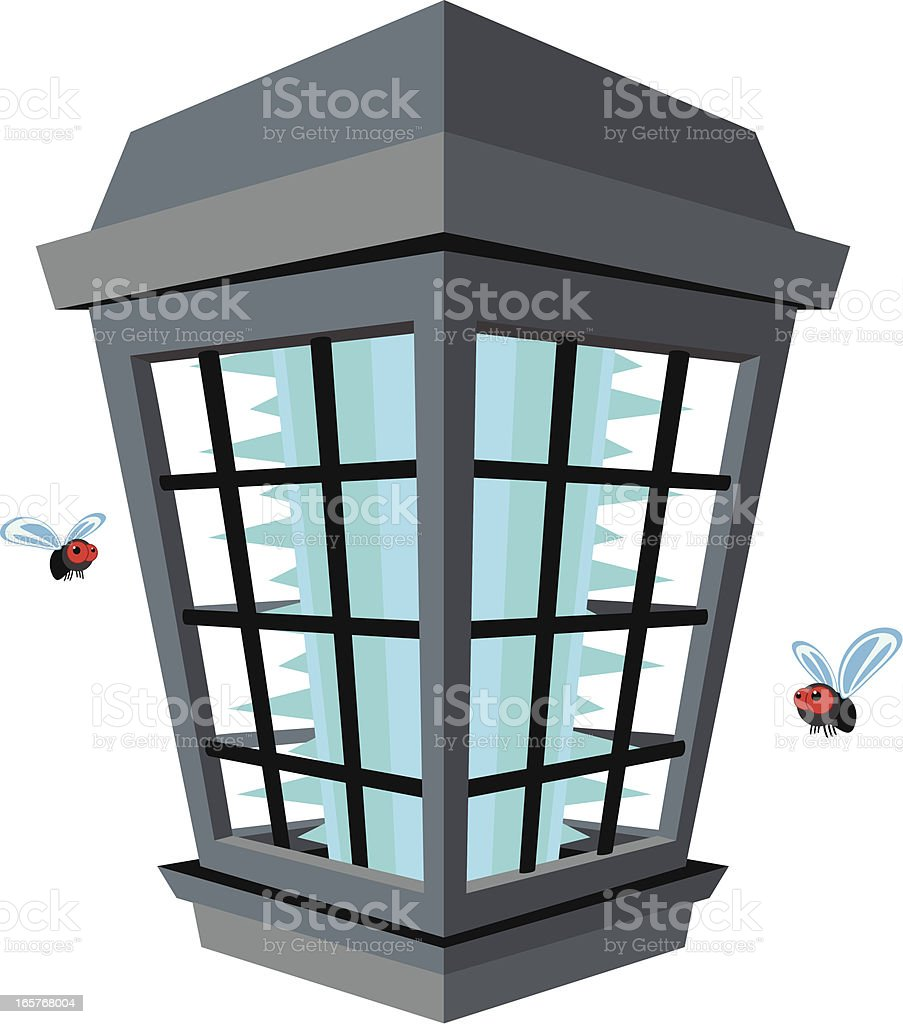 Bug Zapper royalty-free bug zapper stock vector art & more images of animal
