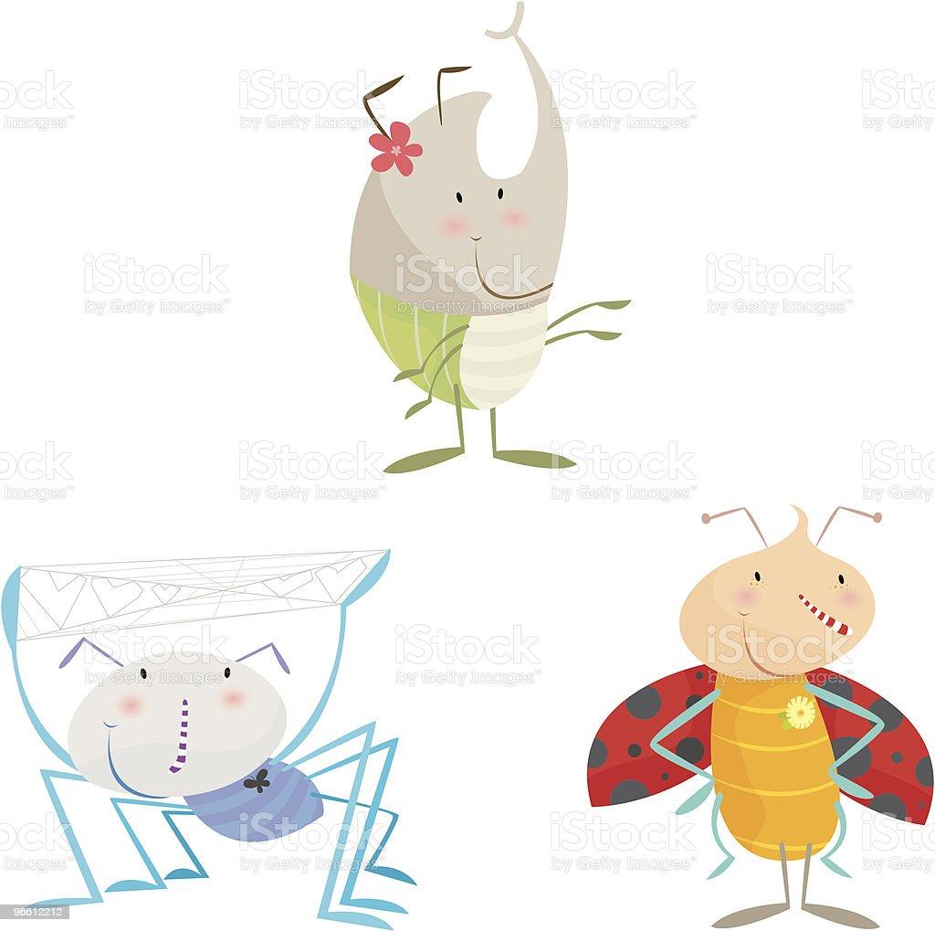 bugs - Royalty-free Animal Themes stock vector