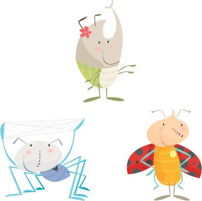 Bugs Stockvectorkunst en meer beelden van Bontgekleurd