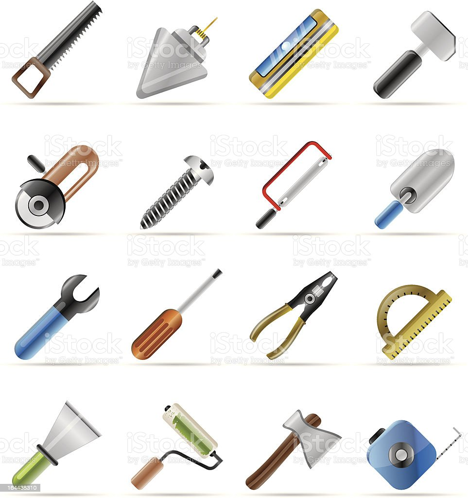 Building and Construction Tools icons royalty-free building and construction tools icons stock vector art & more images of bolt