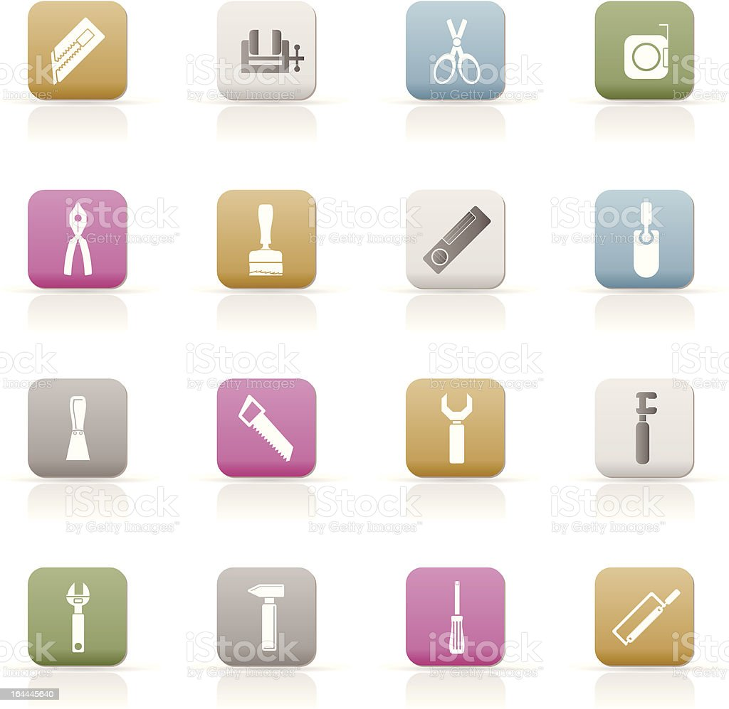Building and Construction Tools icons royalty-free building and construction tools icons stock vector art & more images of architecture