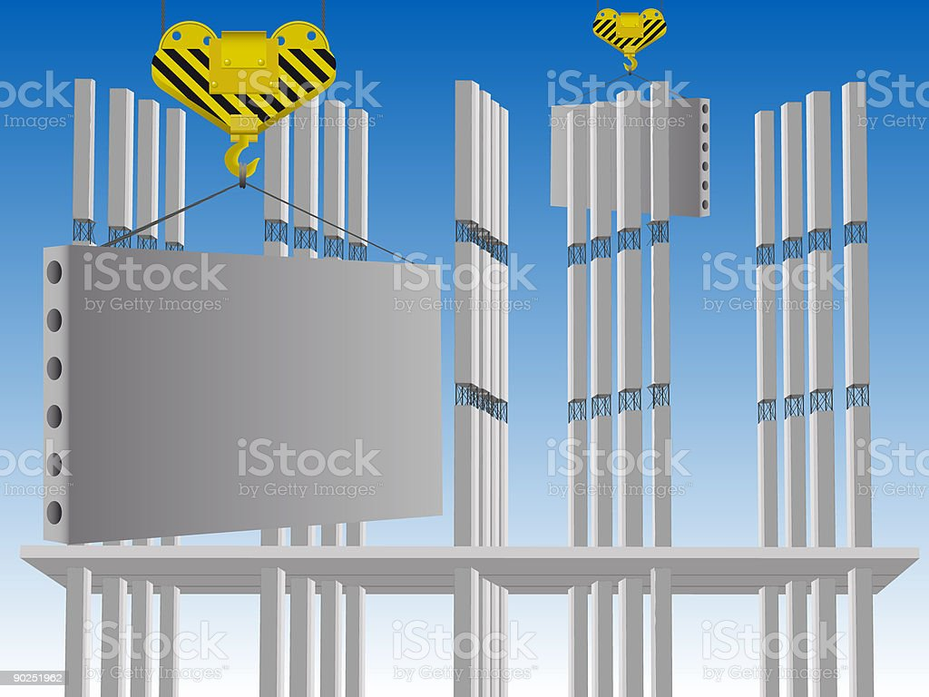 Building royalty-free stock vector art