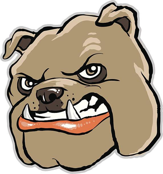 Royalty Free Bulldog Mascot Vector Clip Art Vector Images