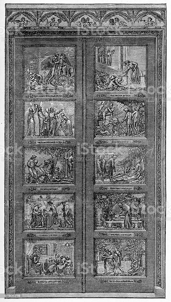 Bunyan Gates, Bedford, England royalty-free bunyan gates bedford england stock vector art & more images of 19th century style