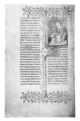 Burgundian breviary, manuscript of the 15th century