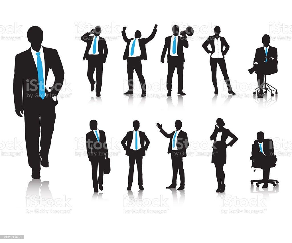 Les comportements d'affaires - Illustration vectorielle