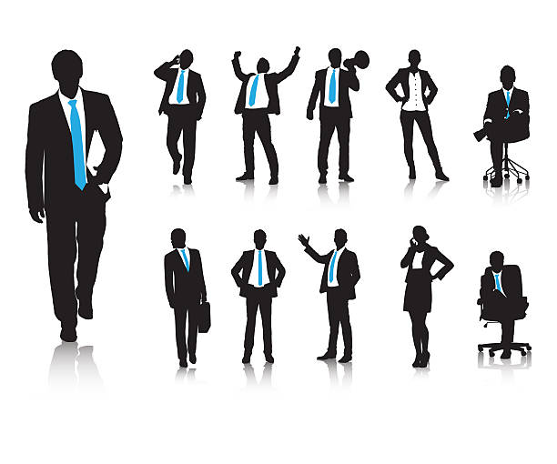 business behaviours - businessman stock illustrations, clip art, cartoons, & icons