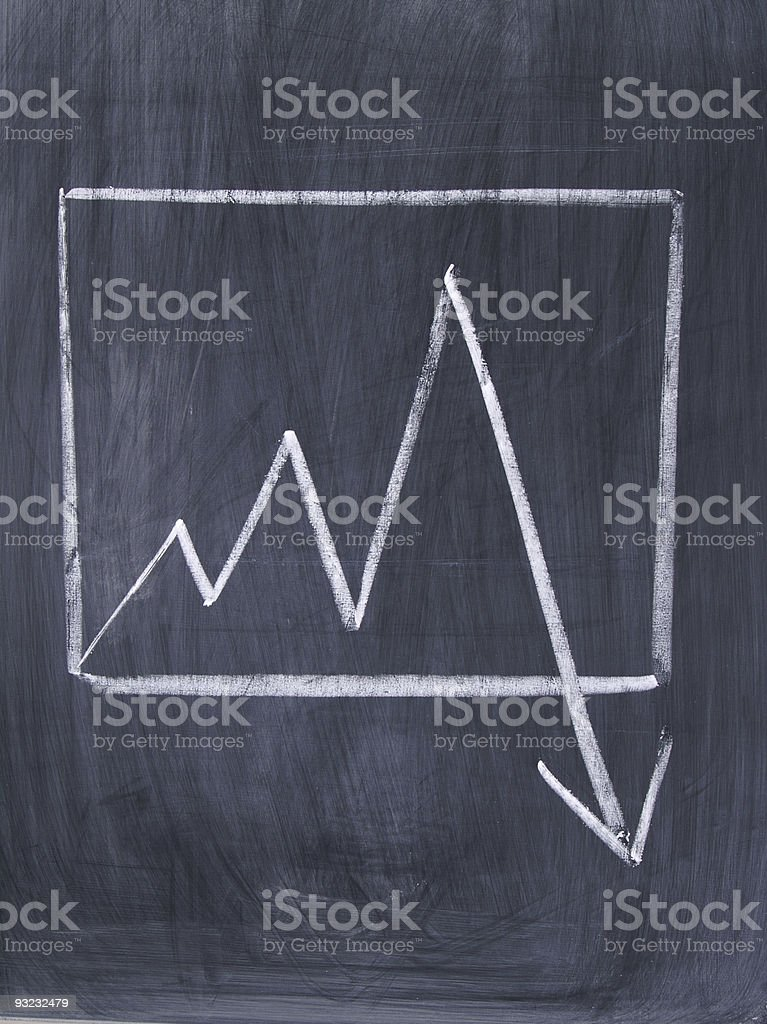 Business Chalk royalty-free stock vector art