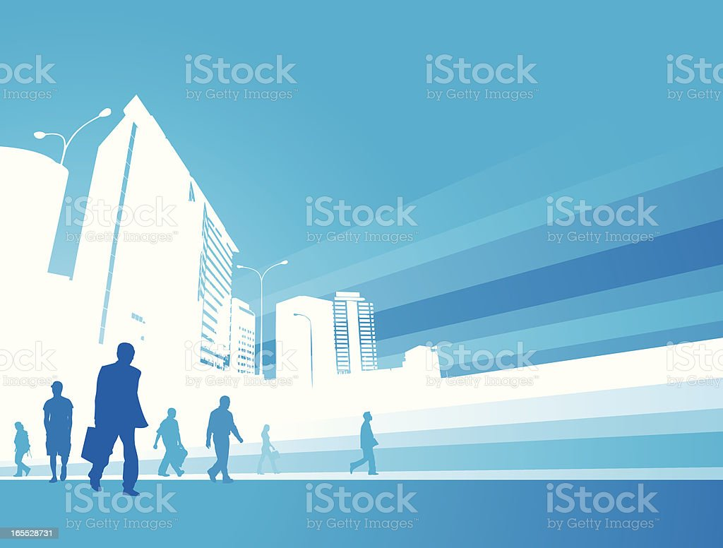 business city royalty-free stock vector art