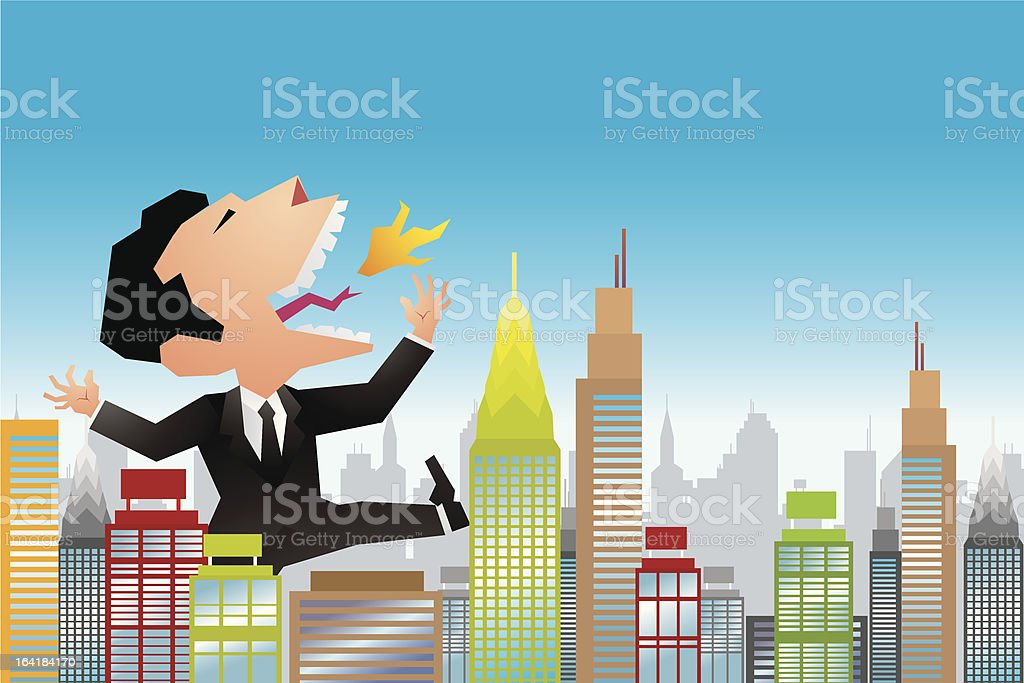 Business concept royalty-free business concept stock vector art & more images of aggression