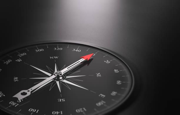 ilustrações, clipart, desenhos animados e ícones de business orientation background, compass on the left - orientador escolar