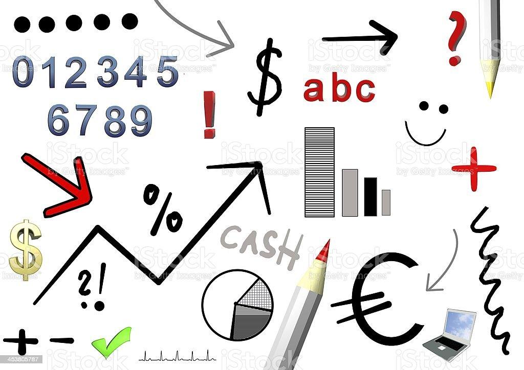 Business Symbole royalty-free stock vector art