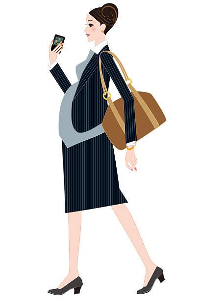 illustrations, cliparts, dessins animés et icônes de femme d'affaires vous êtes enceinte - femmes actives