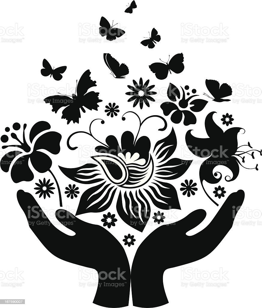 Butterflies and flowers royalty-free butterflies and flowers stock vector art & more images of animal markings