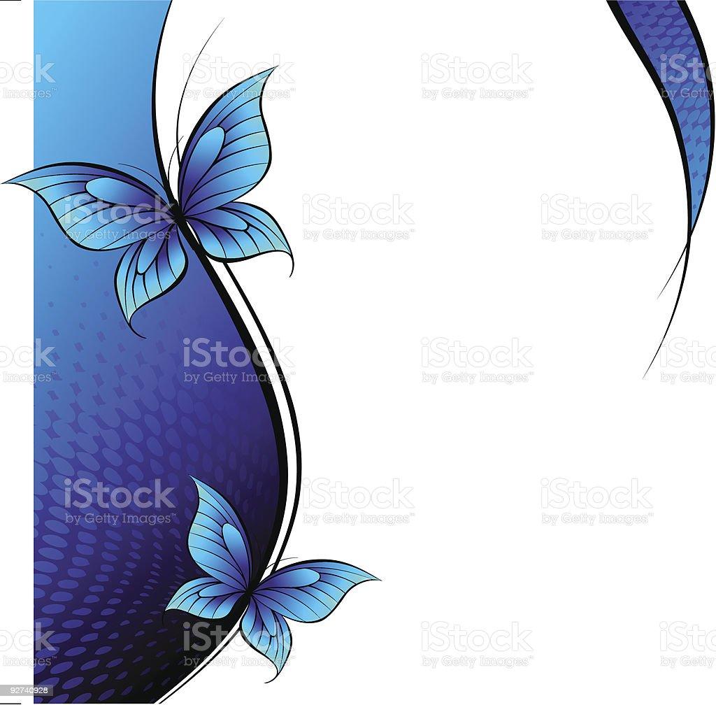 Schmetterlinge. Lizenzfreies schmetterlinge stock vektor art und mehr bilder von abstrakt