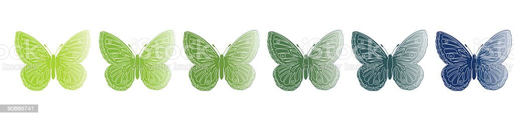 butterfly royalty-free stock vector art