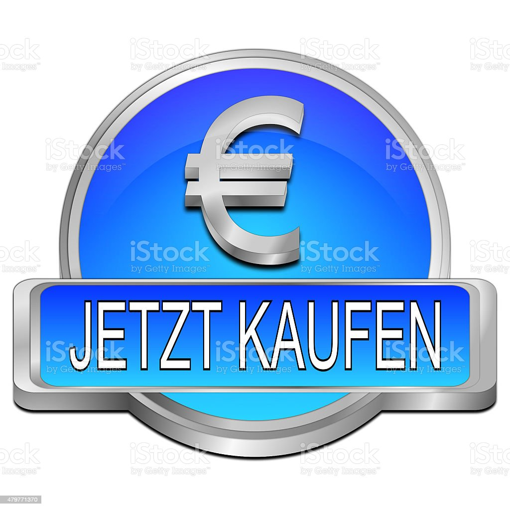 Buy Now Button With Euro Symbol In German Stock Vector Art More