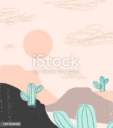 istock Cacti in the canyon 1331646462