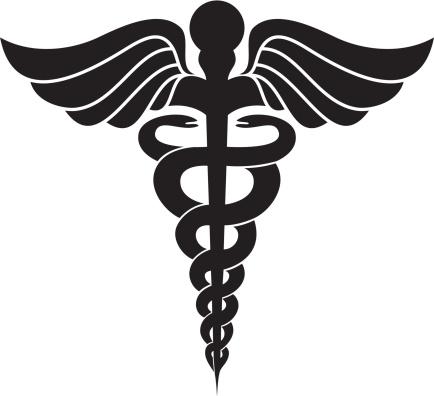 ヘルメスの杖を医療シンボルマーク - イラストレーションのベクターアート素材や画像を多数ご用意