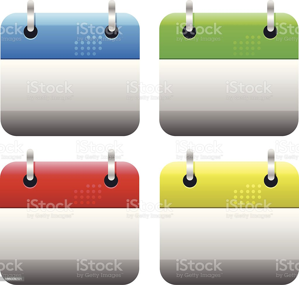Calendar Icons royalty-free calendar icons stock vector art & more images of blue