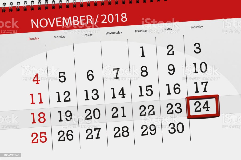 Calendar Planner For The Month Deadline Day Of The Week 2018