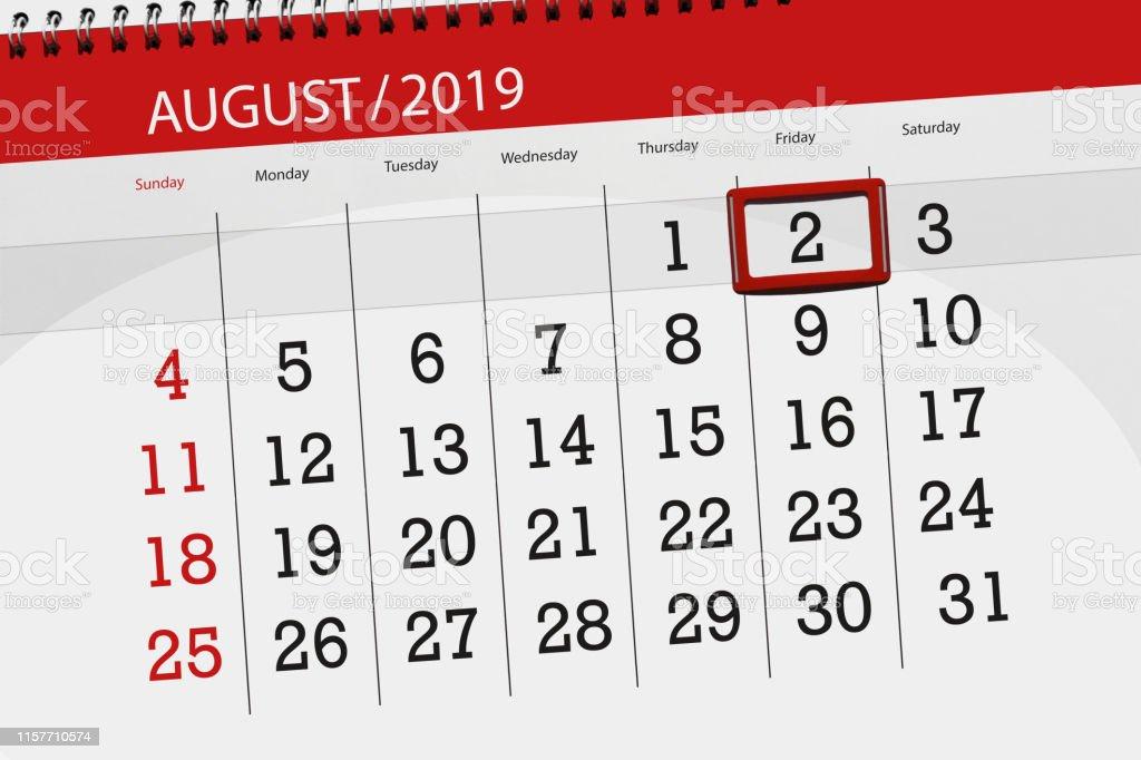 Semaine 2019 Calendrier.Planificateur Du Calendrier Pour Le Mois Date Limite De La
