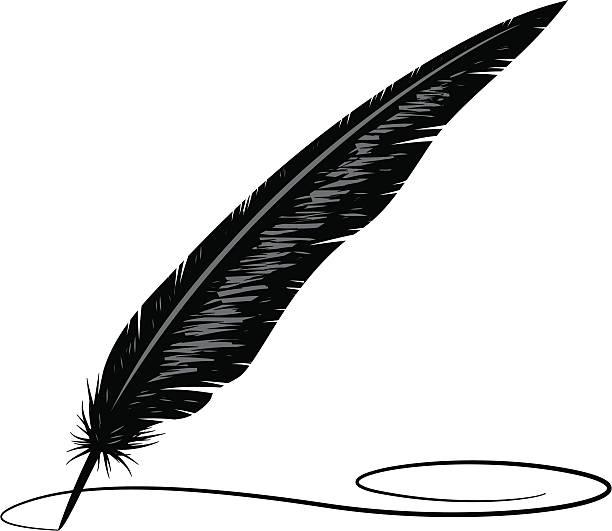 Quill Pen Clip Art Vector Images Illustrations Istock