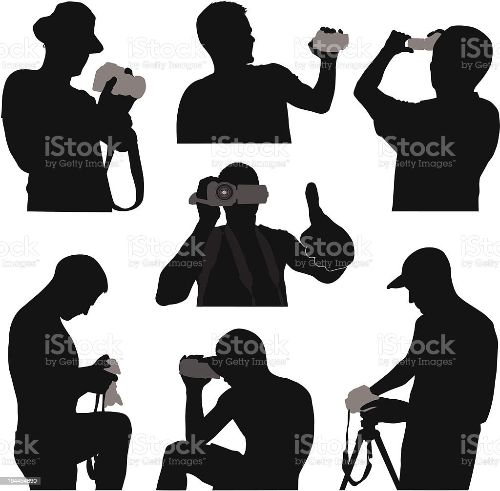 cameraman royalty free stock vector art
