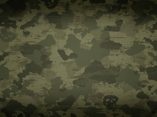 ilustrações, clipart, desenhos animados e ícones de camuflagem militares fundo - forças armadas