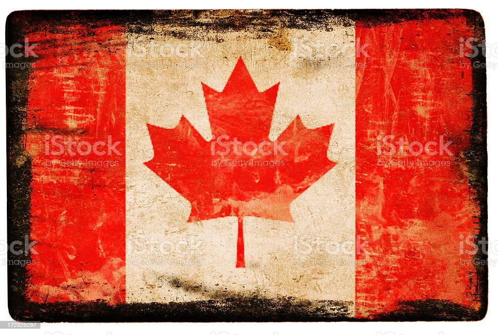 Canadian Flag XXL royalty-free stock vector art