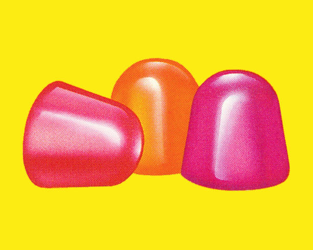 Candies Candies gum drop stock illustrations