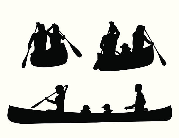 Top 60 Canoeing And Kayaking Clip Art, Vector Graphics and ...