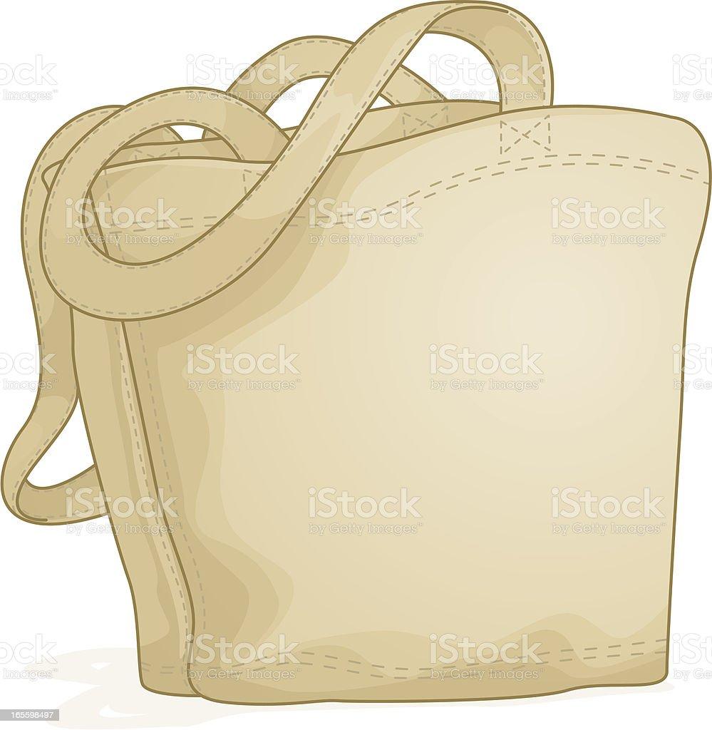 Bolsa de lona ilustração de bolsa de lona e mais banco de imagens de bolsa - objeto manufaturado royalty-free