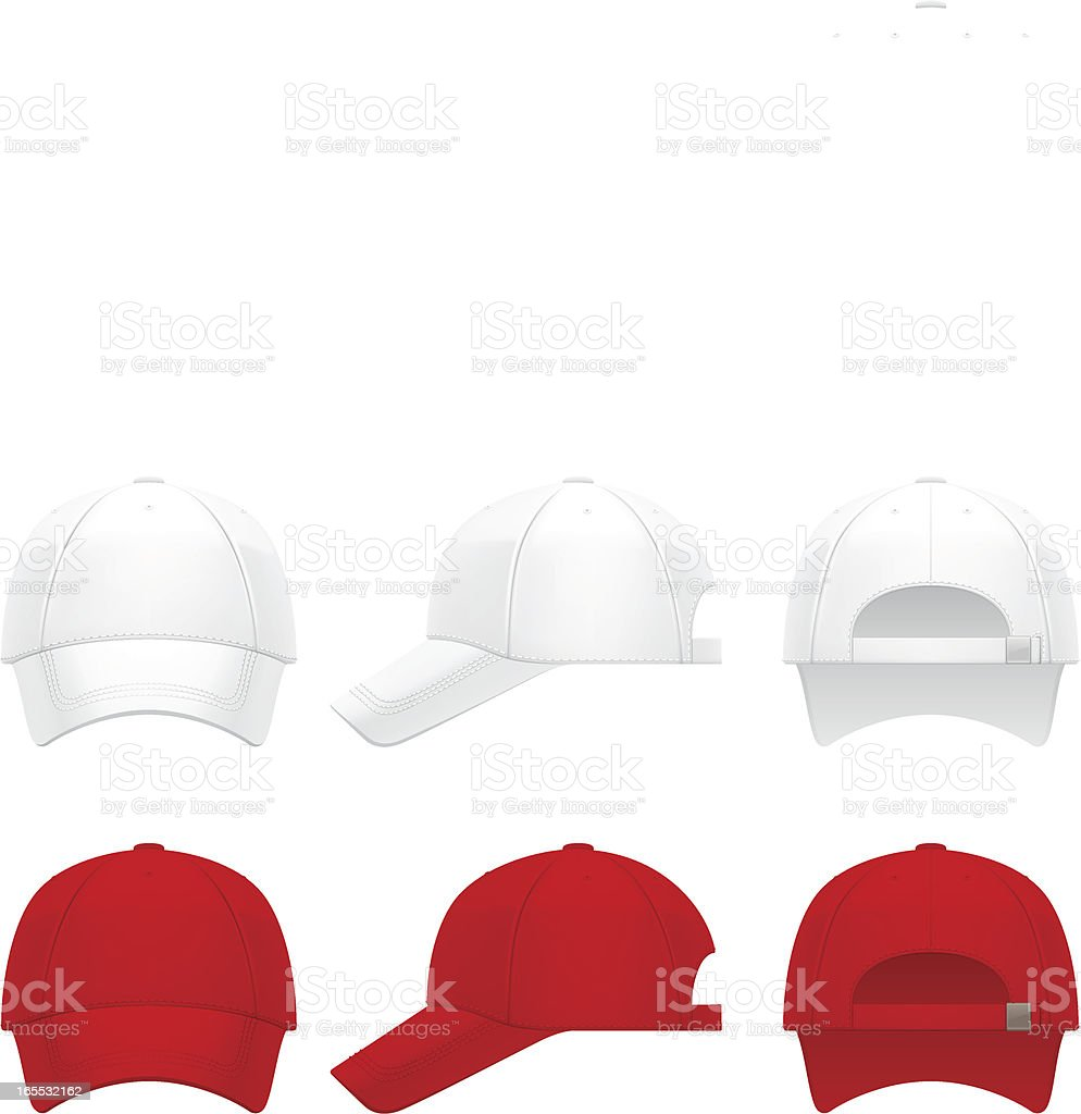 Cap vector art illustration