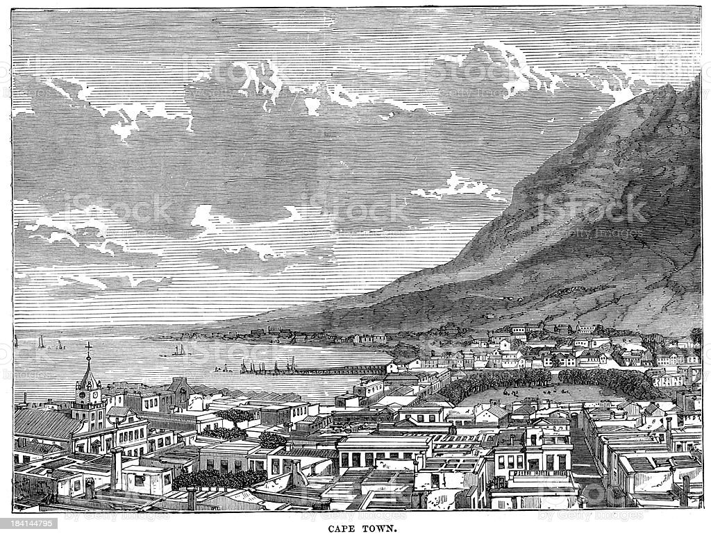 Cape Town royalty-free cape town stock vector art & more images of 19th century