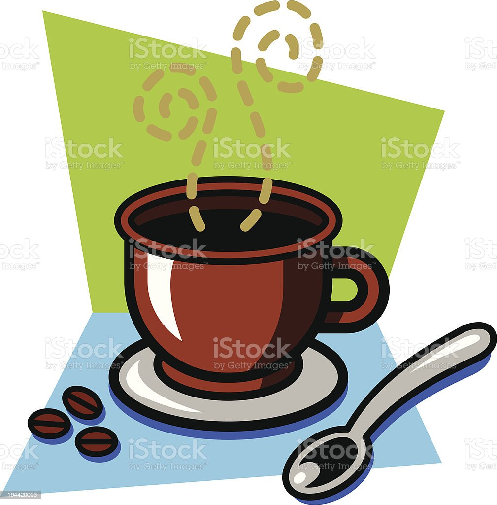 Cappuccino royalty-free cappuccino stock vector art & more images of black coffee