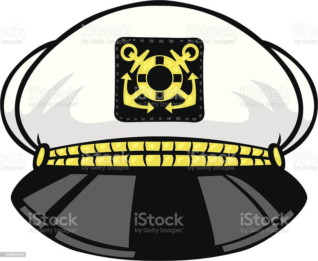 Royalty Free Ship Captain Clip Art, Vector Images ... Captain Hat Vector
